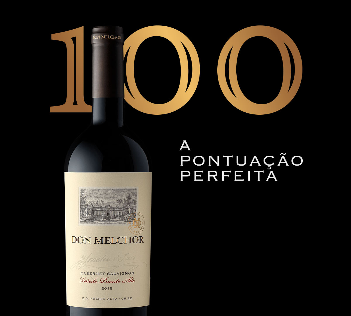 Don Melchor obtém 100 pontos, a pontuação perfeita