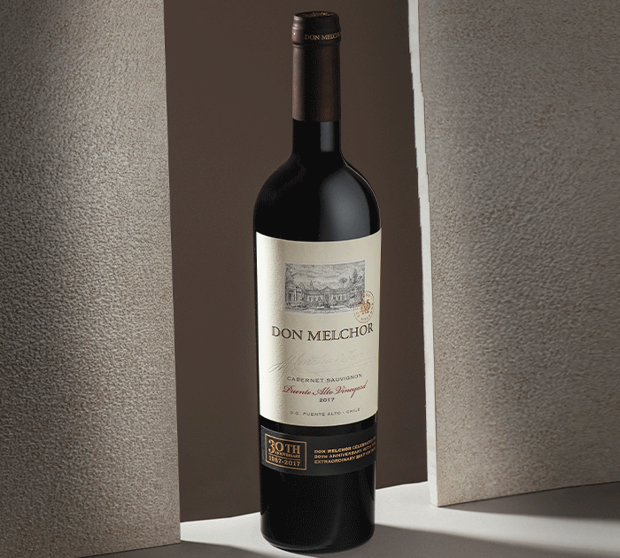Wine Enthusiast destacou o Don Melchor 2017 entre os top 10 Cellar Selection do ano