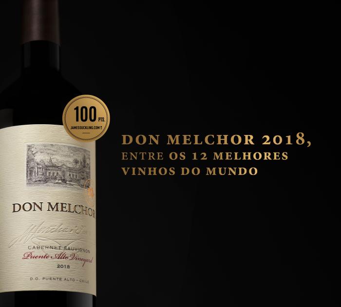 Don Melchor 2018:  Entre os 12 melhores vinhos do mundo