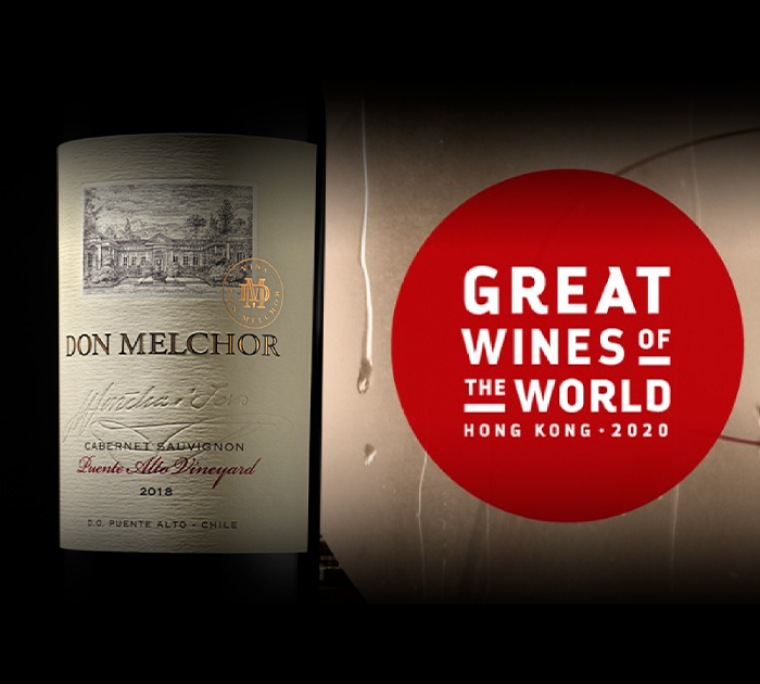 Don Melchor presente na Great Wines of The World