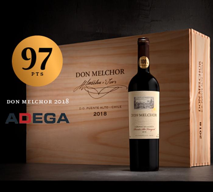 Don Melchor 2018: Vinho do ano na revista Adega